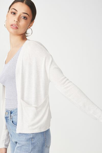 Ot Sammy Short Cardigan, PEARL TWIST