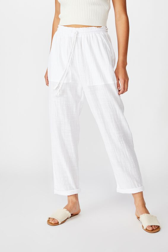 The Weekend Pant, WHITE