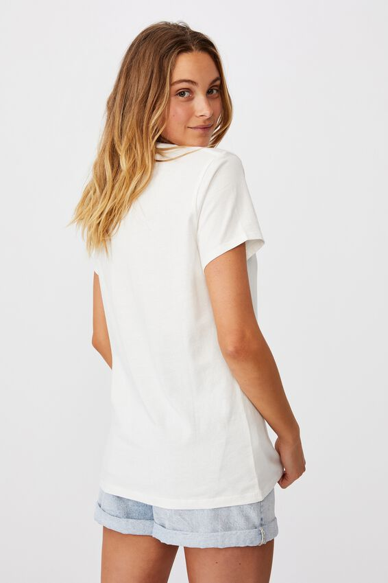 Classic Arts T Shirt, HAPPY/GARDENIA