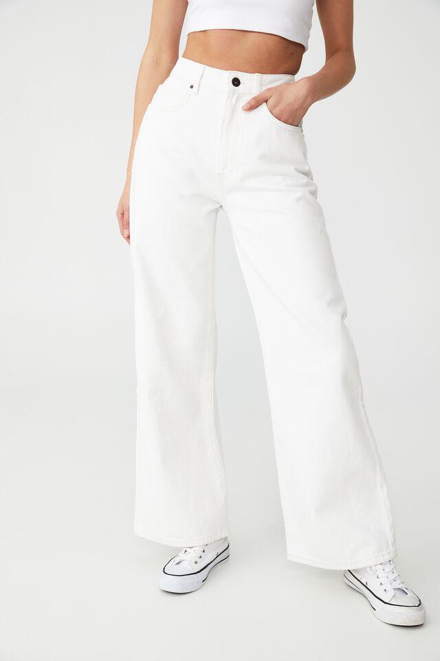 Petite Wide Leg Jean, WHITEHAVEN