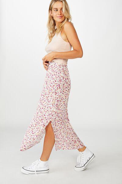 90S Slip Skirt, BRONTE DITSY MULTI