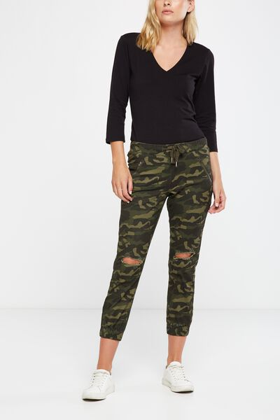 The Cuffed Chino, ARMY CAMO RIPS