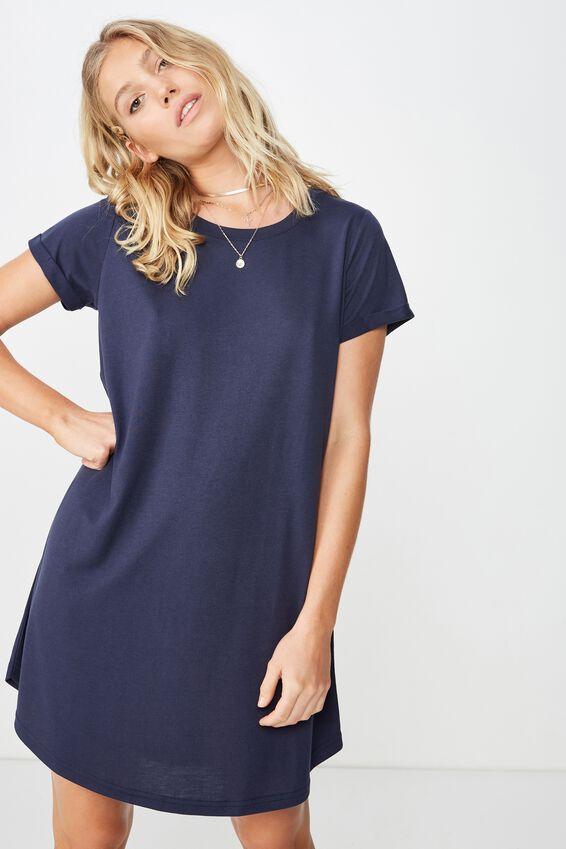 Tina Tshirt Dress 2, MOOD INDIGO