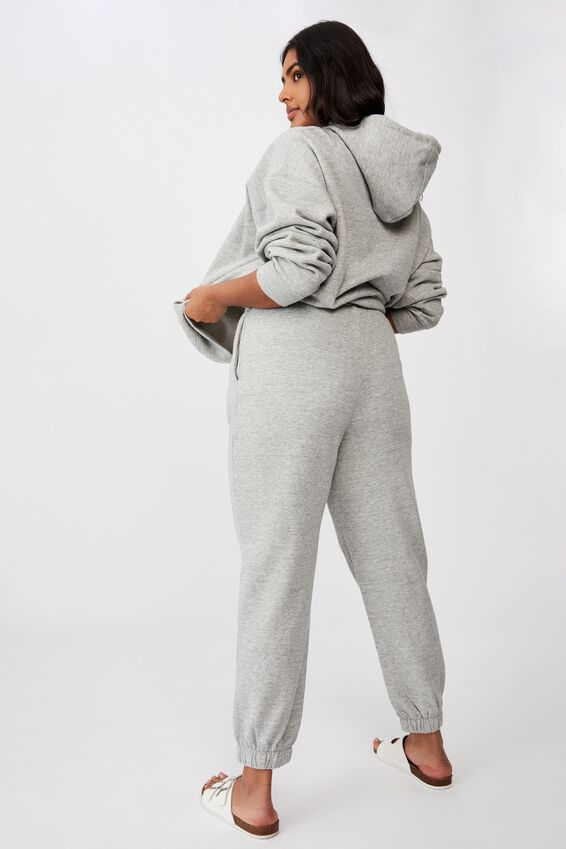 Curve High Rise Trackpant, GREY MARLE