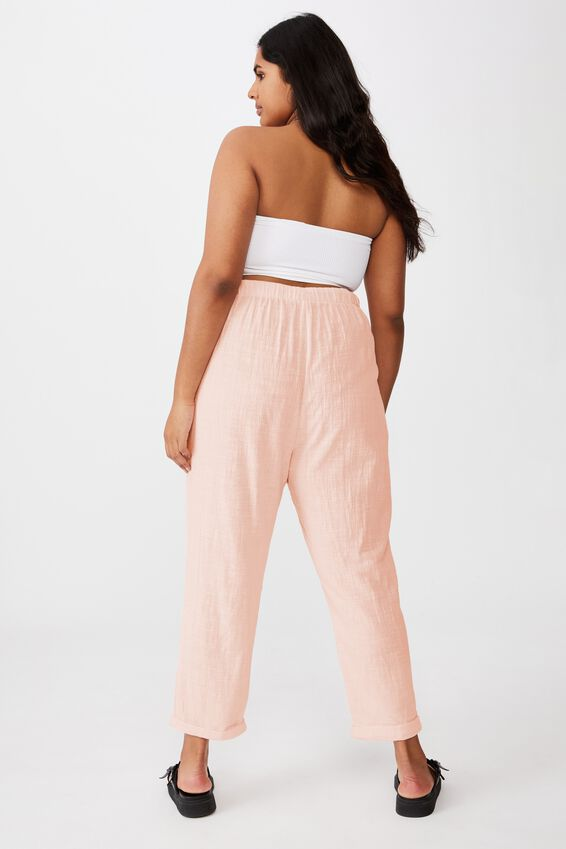 Curve Cali Pull On Pant, SUNFADED PINK