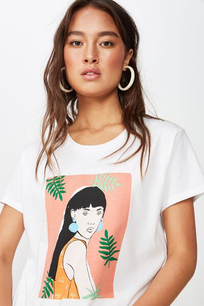 Classic Arts T Shirt, GEORGIA/WHITE