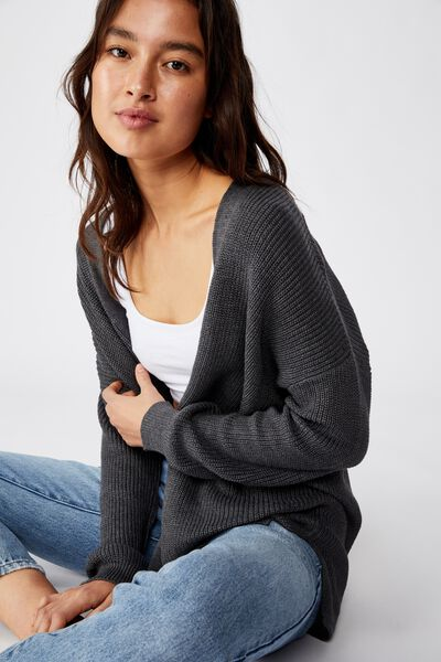 Archy Cardi 2, CHARCOAL MARLE