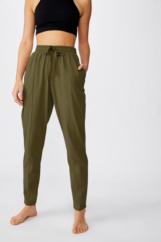 Relaxed Lounge Pant, LIGHT OLIVE