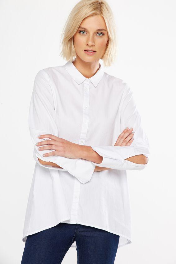 Amelia Shirt, WHITE