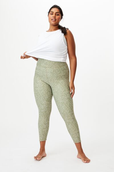Curve Active Reversible 7/8 Tight, DOT TO DOT OREGANO/OREGANO