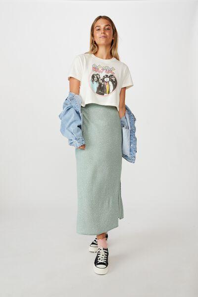 90S Slip Skirt, KAT SPOT JADE