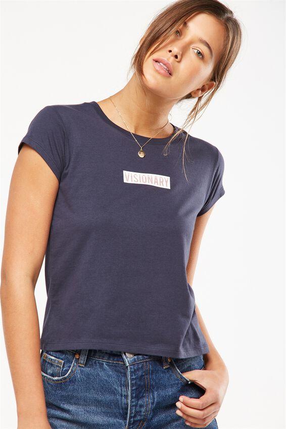 Tbar Rachael Graphic Tee Shirt, VISIONARY/MOONLIGHT