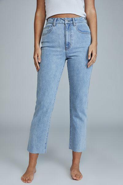 Straight Stretch Jean, FLYNN BLUE