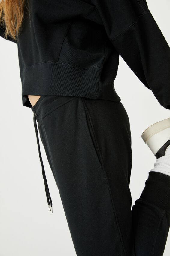 Your Favourite Track Pant, WASHED BLACK