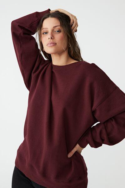 Classic Sweatshirt, RICH BERRY