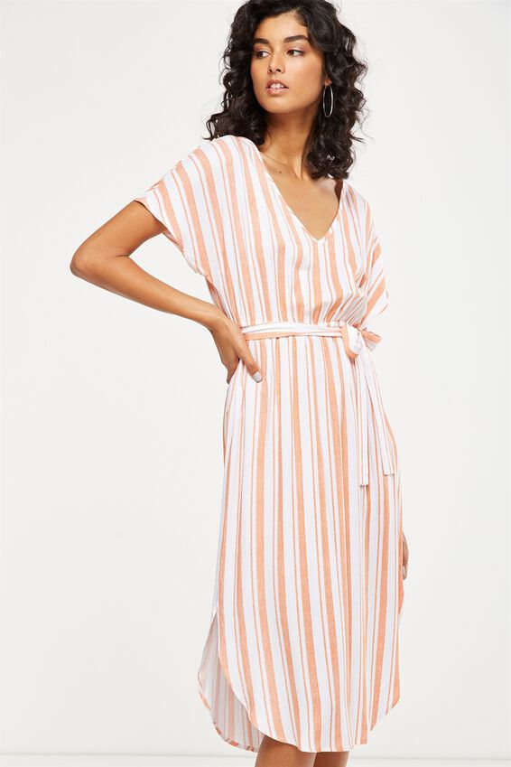 Woven Melina Midi Dress by Cotton On