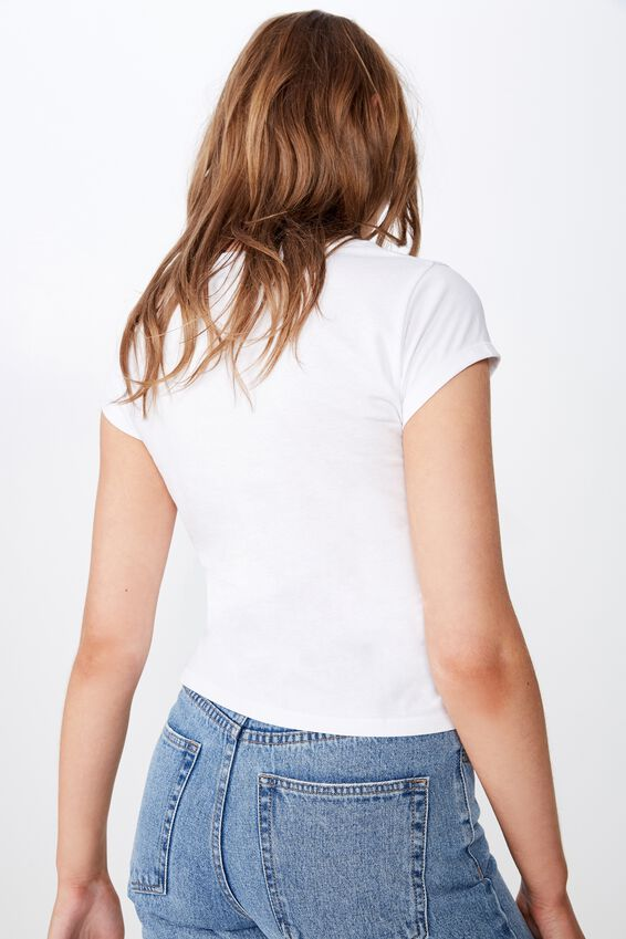Essential Pink Floyd T Shirt, LCN PER PINK FLOYD 3D LOGO/WHITE