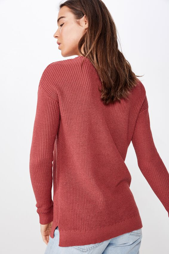 Archy 6 Pullover, MAUVEWOOD