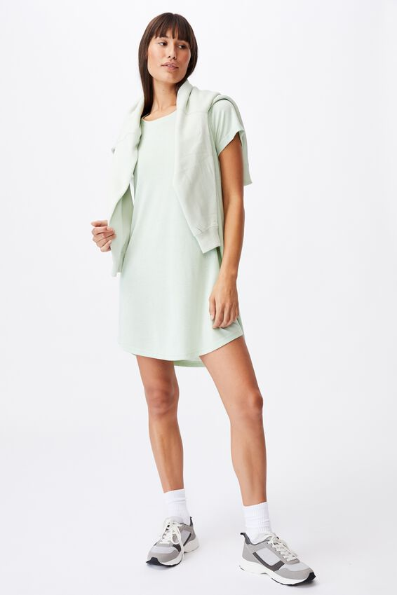 Tina Tshirt Dress 2, SPRING MINT MARLE