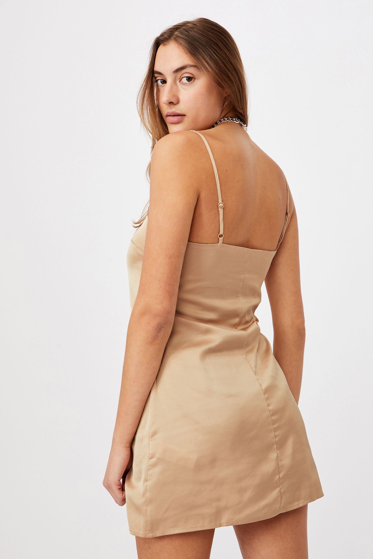 Woven Kerr Strappy Mini Dress | Cotton On