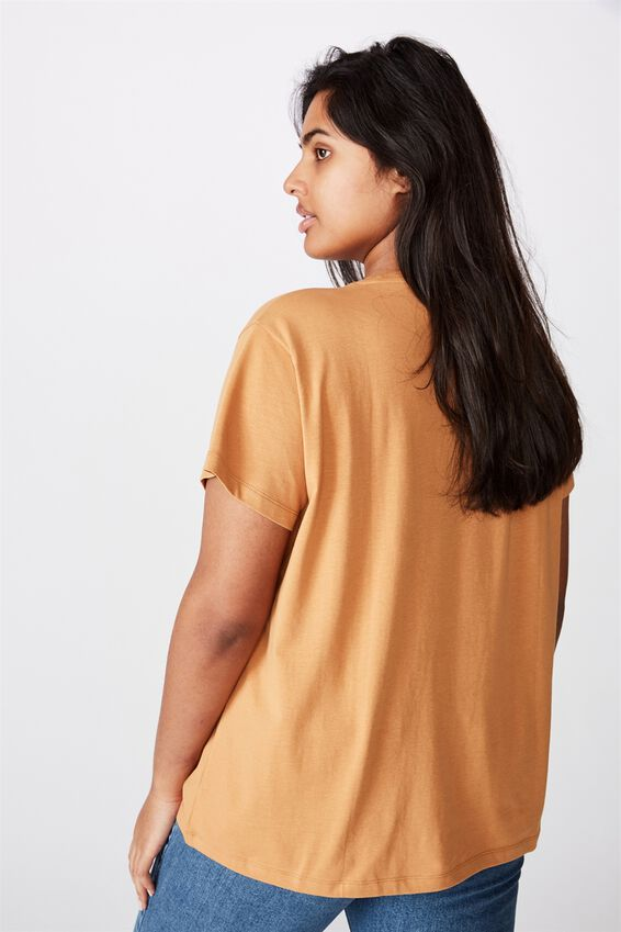 Curve Graphic Tee, ENDLESSLY EVOLVING/ BISCUIT