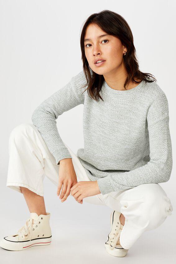 Archy Pullover, JADE WHITE TWIST
