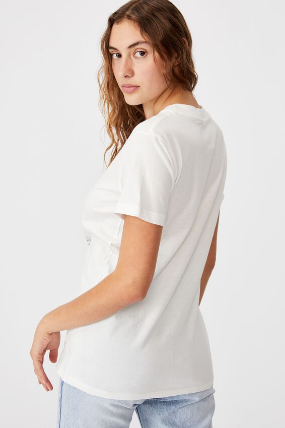 Classic Arts T Shirt, TAROT/GARDENIA