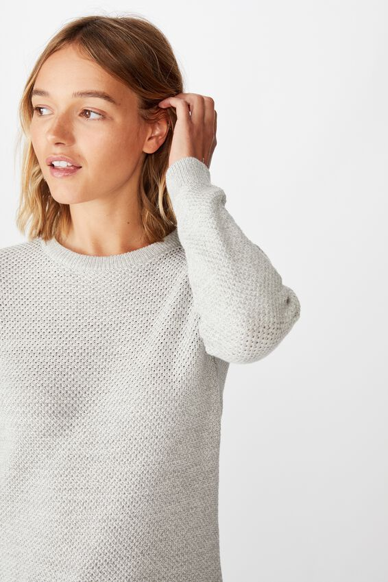 Archy Pullover, GREY MARLE