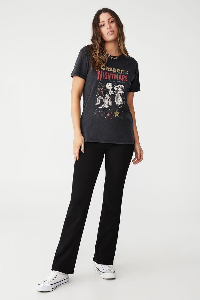 Classic Tv Movie T Shirt, LCN UNI CASPER NIGHTMARE/BLACK