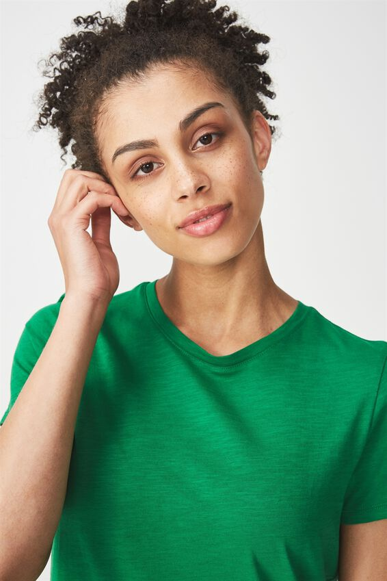 The Crew T Shirt, GULLY GREEN