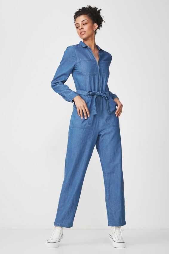 Boilersuit, MID BLUE 2