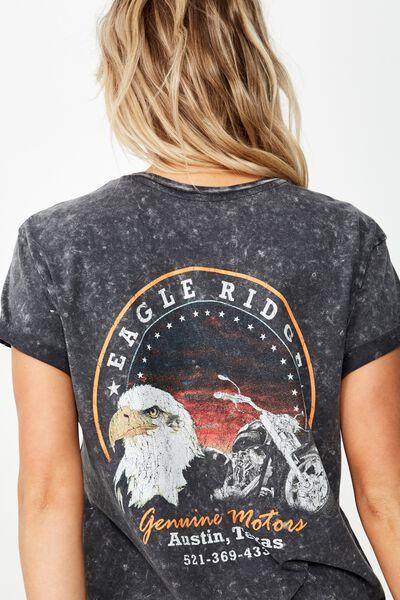 Classic Vintage T Shirt, EAGLE RIDGE/BLACK