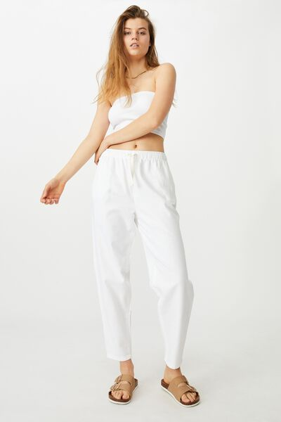 Everyday Pant, CHALK WHITE
