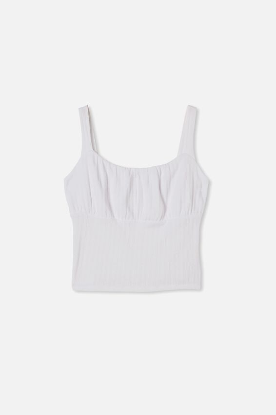 Curve Boyd Buster Tank, WHITE