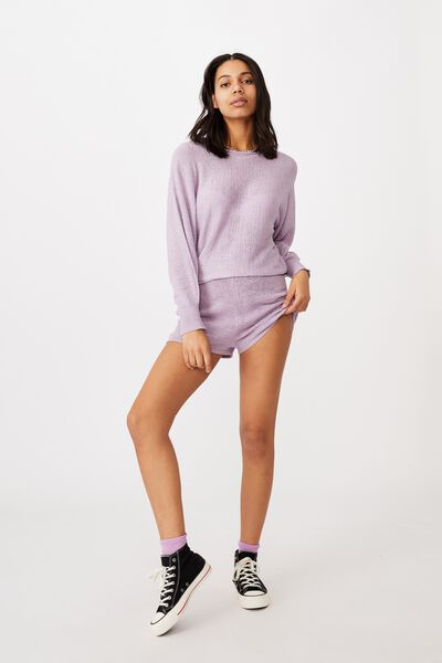 Match Me Pullover, FROSTY LILAC