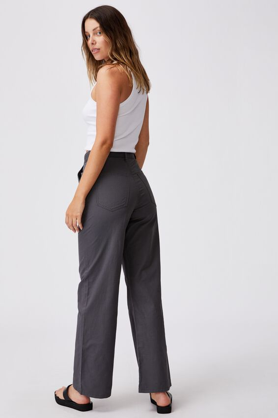 Parker Long Straight Pant, SHADOW GREY