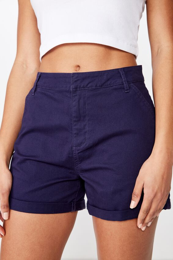 Cuffed Chino Short, ECLIPSE