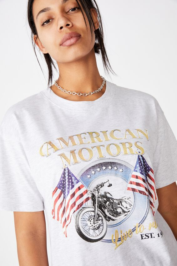 The Original Graphic Tee, AMERICAN MOTORS/SILVER MARLE