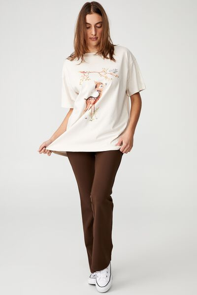 The Relaxed Boyfriend Graphic Tee, VINTAGE FAWN/WHITE SAND