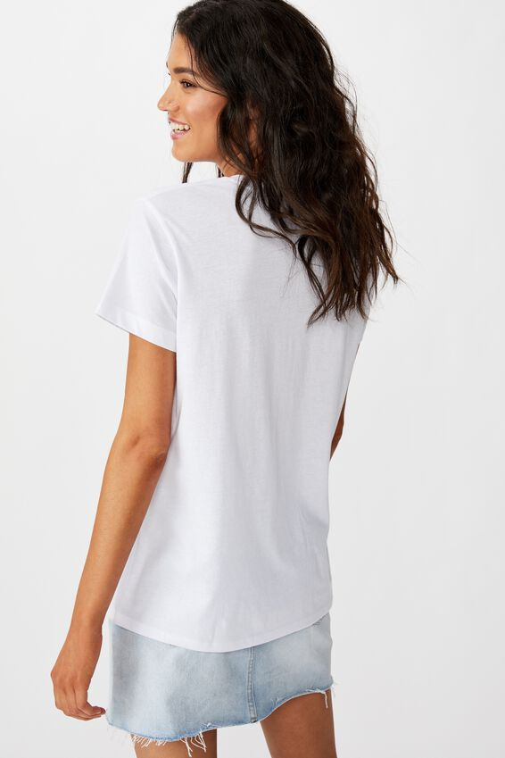 Classic Astrology T Shirt, LIBRA/WHITE
