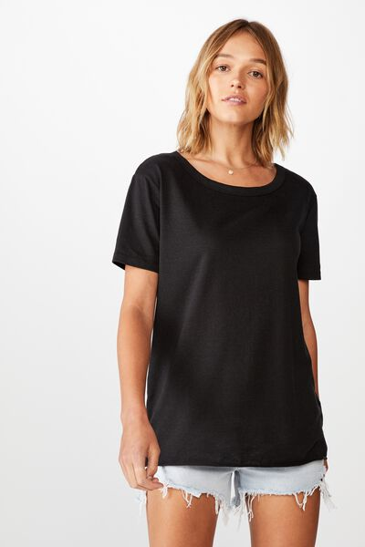 The Heritage Tee, BLACK