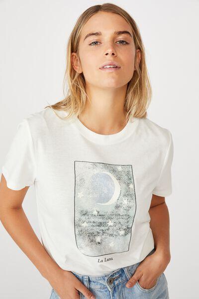 Essential Art T Shirt, LA LUNA/GARDENIA