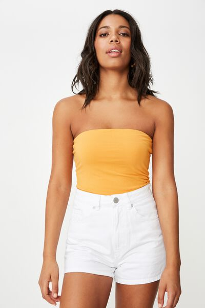 Everyday Tube Top, BUTTERSCOTCH
