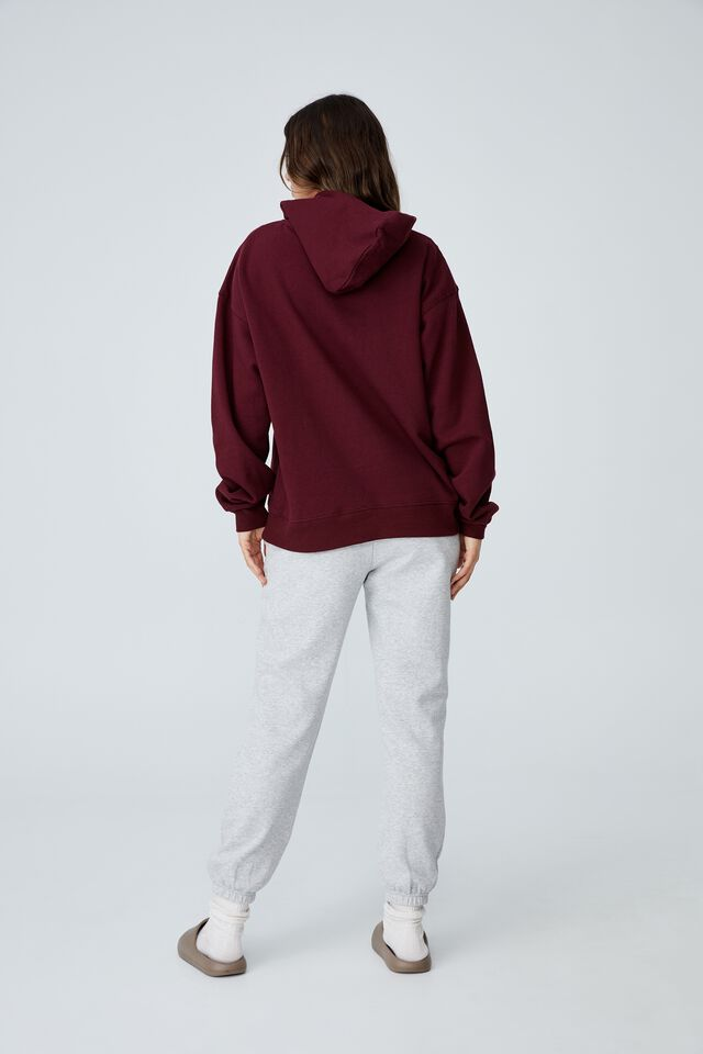 Classic Hoodie, RICH BERRY
