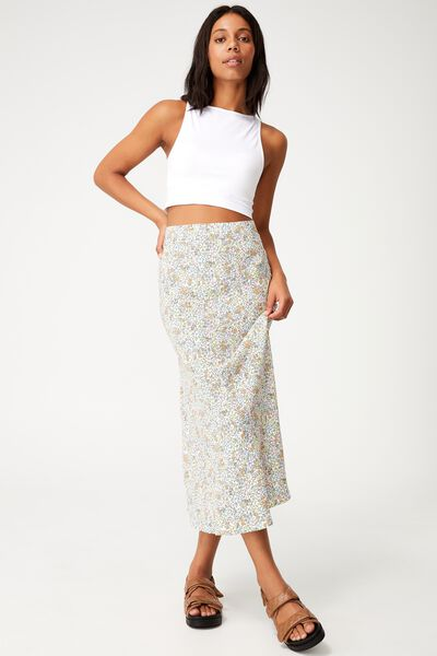 All Day Slip Skirt, MAGGIE DITSY MULTI