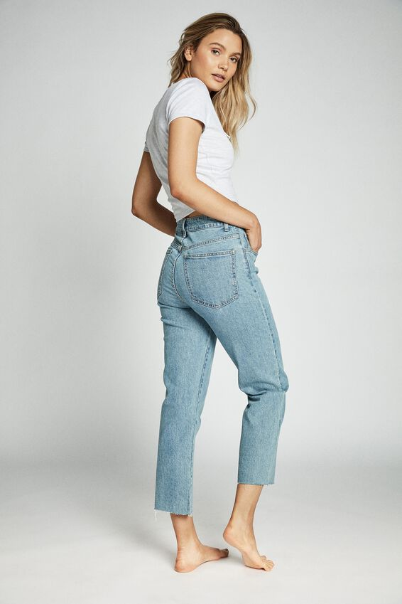 Straight Stretch Jean, BOSTON BLUE