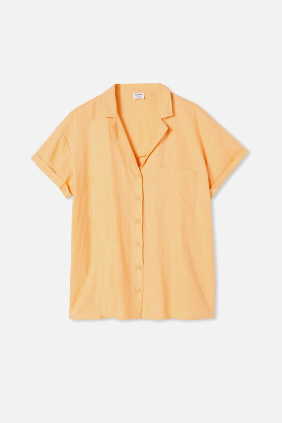 Poolside Shirt, ICY APRICOT