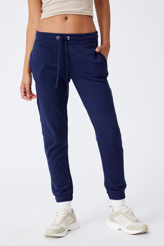 Slim Fit Trackpant, PEACOAT  NAVY