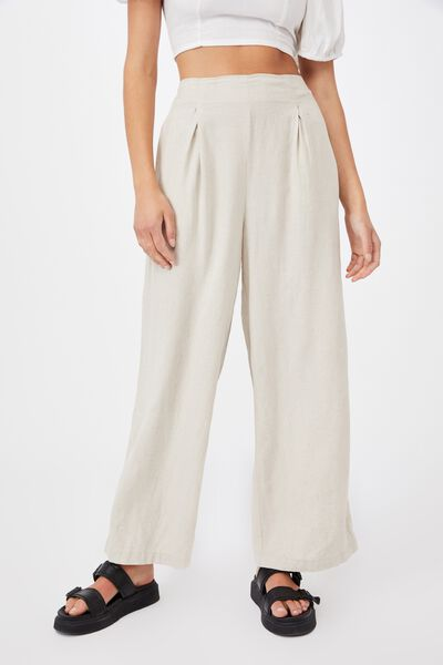 Wide Leg Paradise Pant, FAWN