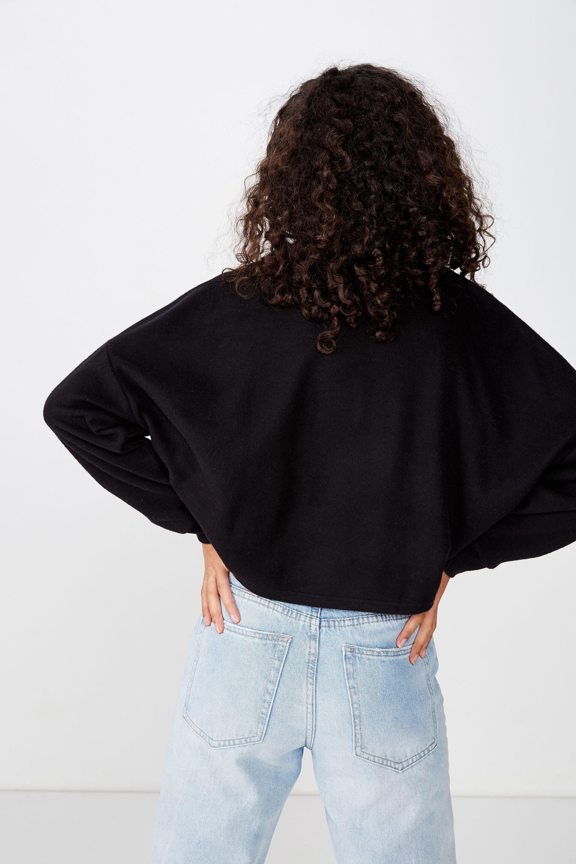 Brina Brushed Rib Mock Neck | Cotton On